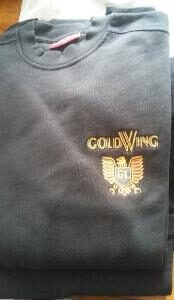 Broderade tröjor/jackor udda storlekar